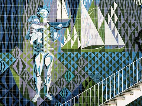 maria keil infante santo mural