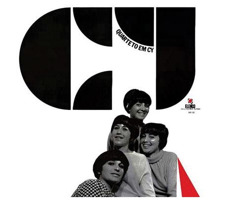 Quarteto em cy record cover design