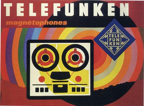 Jacques Nathan Garamond Telefunken poster