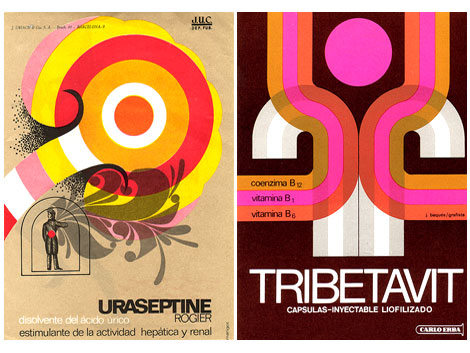 spanish mid century modern graphic design