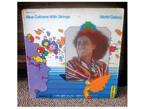 Alice Coltrane peter max album cover art- design