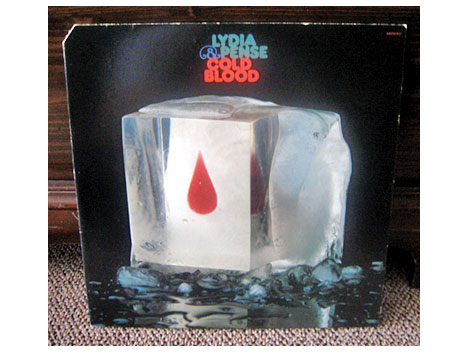 Lydia Pense and Cold Blood lp cover art design