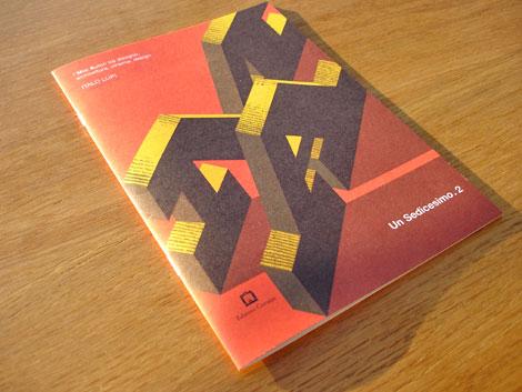 Italo Lupi - Un Sedicesimo magazine - Edizioni Corraini