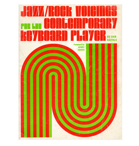 70s book design - Dan Haerle jazz book covers