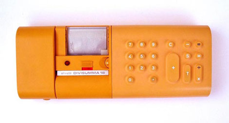 Olivetti Divisumma calculator