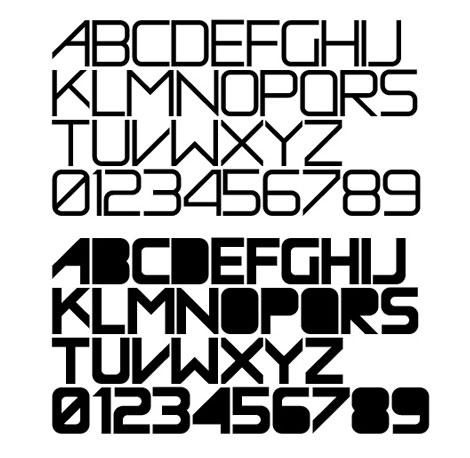 Entomik typeface