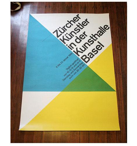 1960s Hans Neuburg - Swiss poster design