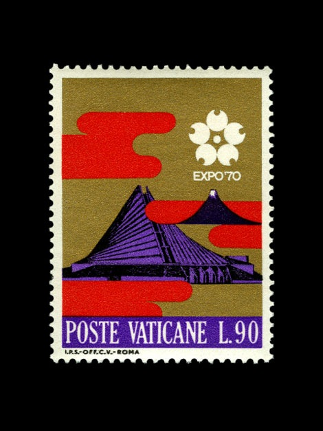 expo 70 stamp japan