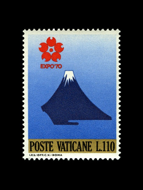 expo 70 stamp poste vaticane