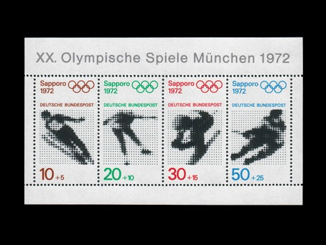 munich olympics stamps 1972