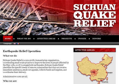 Sichuan Quake Relief China