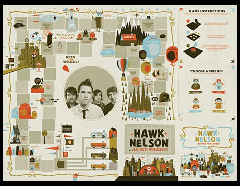 hawk nelson cd packaging