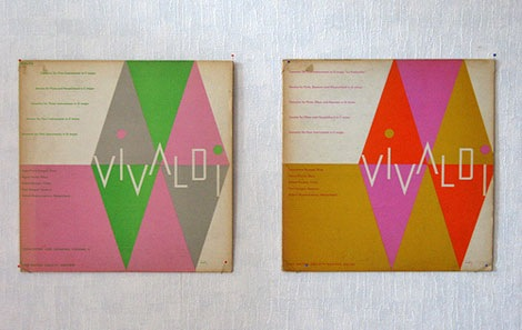 grain edit1950s Alvin Lustig album cover design – Vivaldi