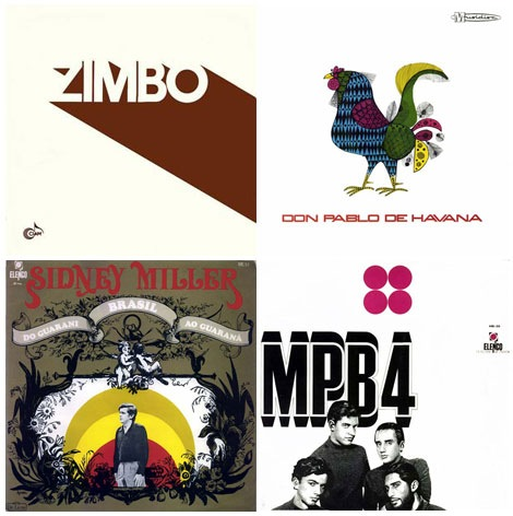 bossa nova album covers