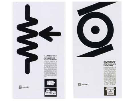 giovanni pintori -Olivetti exhibition catalog