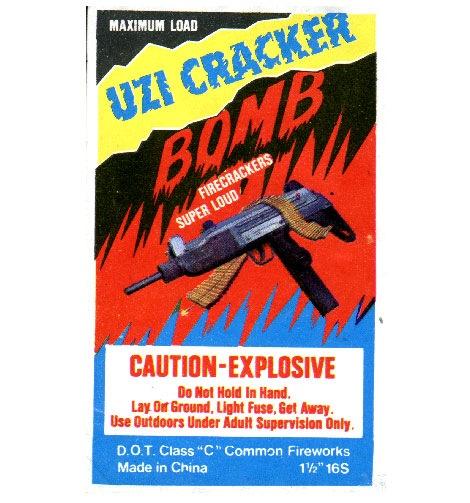 uzi vintage firecrackers