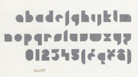 clotilde olyff douff typeface