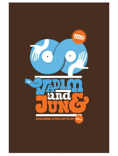 dj vadim small gig poster