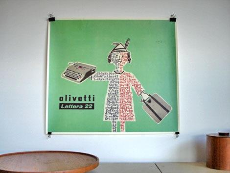 Raymond savignac olivetti print