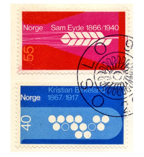 vintage-stamps-norway