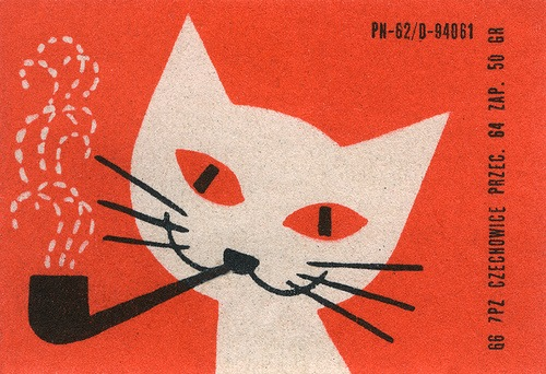 czech matchbox labels