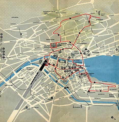 zurich street map