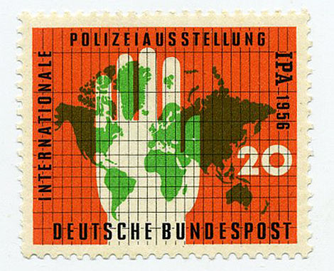 deutsche bundespost 1956