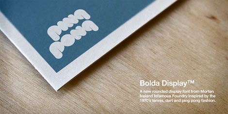 bolda display font