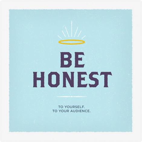 Frank Chimero - Be Honest