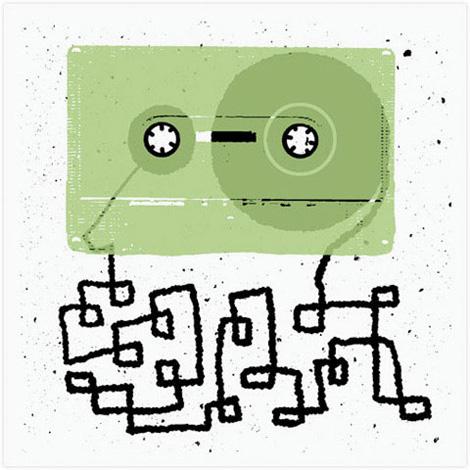 Frank Chimero - Tape Maze
