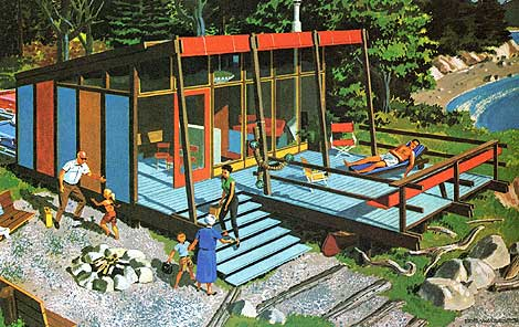 Grain editmid century modern home plans for Mid century modern prefab homes