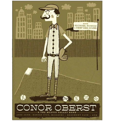 conor oberst poster