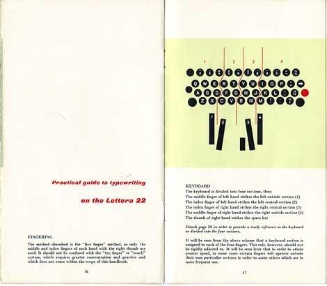 olivetti lettera 22 manual