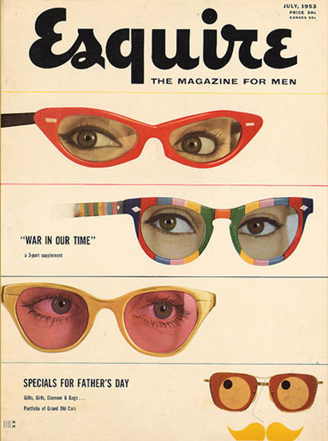 vintage esquire july 1953