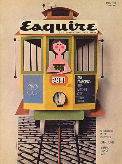 vintage esquire may 1958
