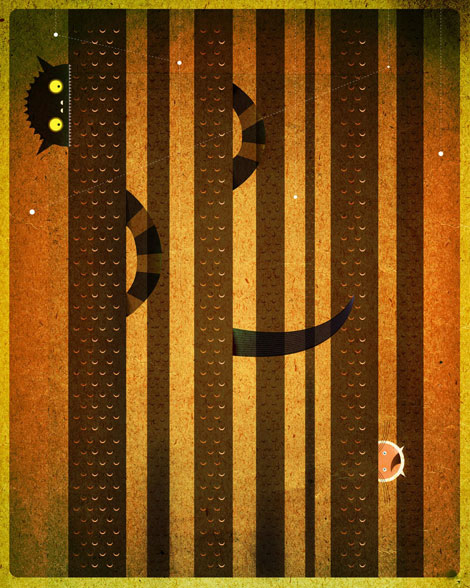 terrible yellow eyes, dan matutina