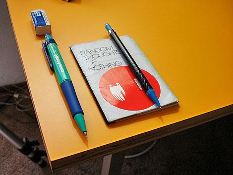 pen pencil stencil