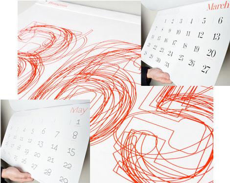 2010 pentagram calendar veer