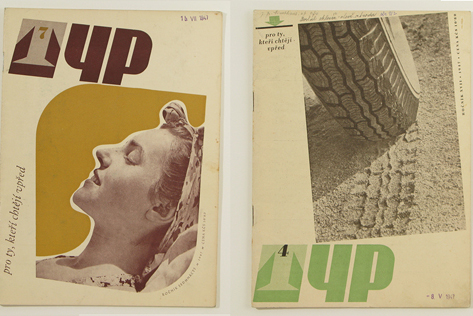 Typ journal from late 1940s in Czechosolvakia