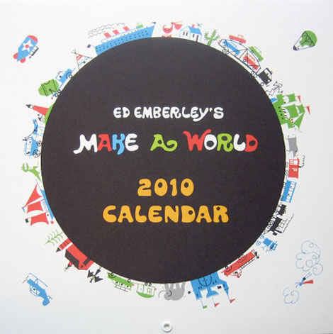 ed emberley 2010 calendar