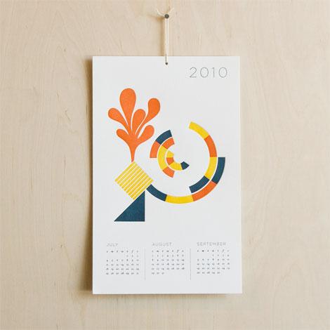 2010 calendar seesaw press