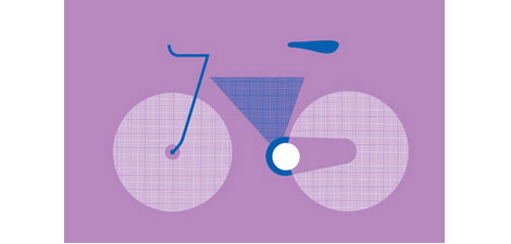 poster cabaret bike set