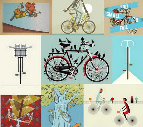 poster cabaret bike prints