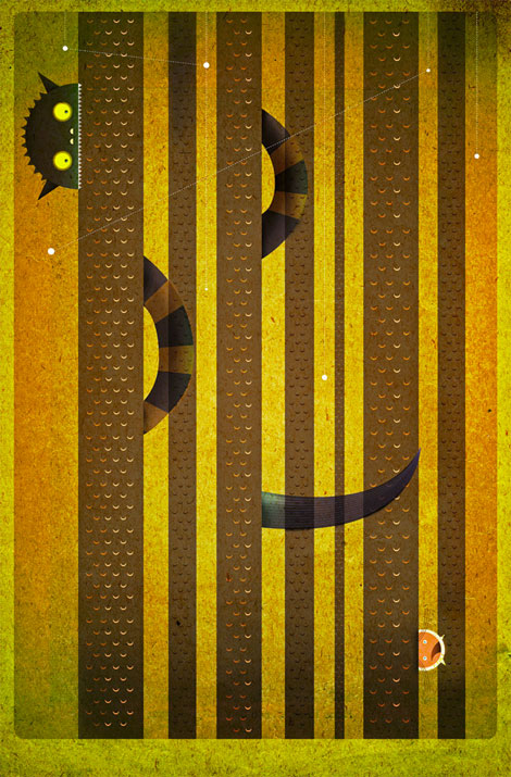 dan matutina, twisted fork, status and shapes, philippines, design,  illustration