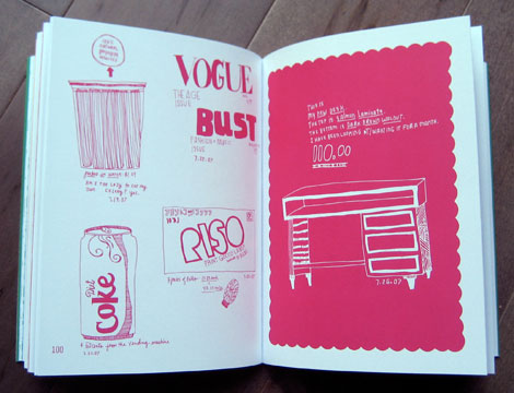 kate bingaman-burt, kate burt, obsessive consumption, illustration, book review