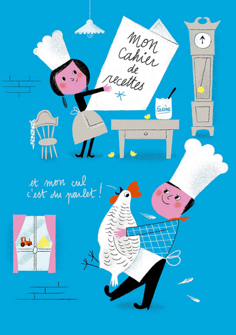 Aurelie Guillerey, illustration, France, French Illustration