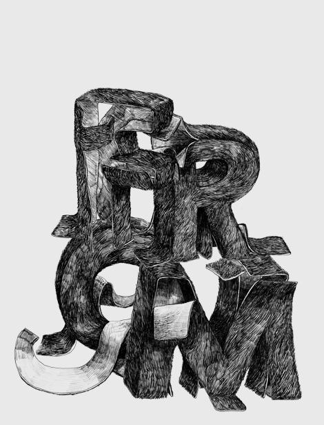 Voidwreck, typography, Netherlands