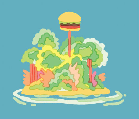 Tim Lahan, illustration, USA