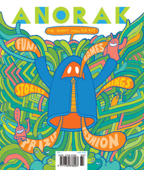 Anorak Magazine, First Issue