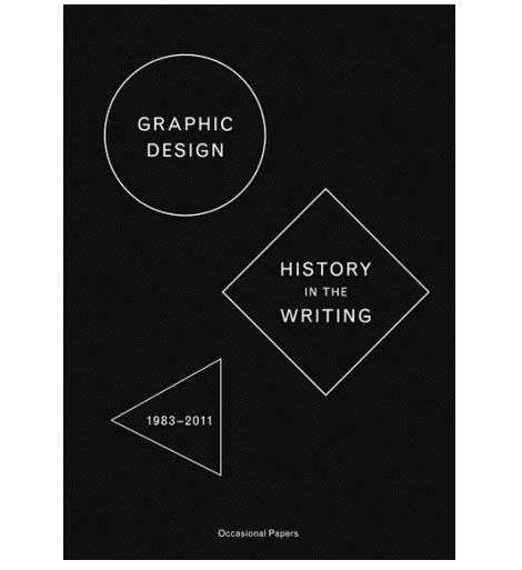 graphic design history in the writing
